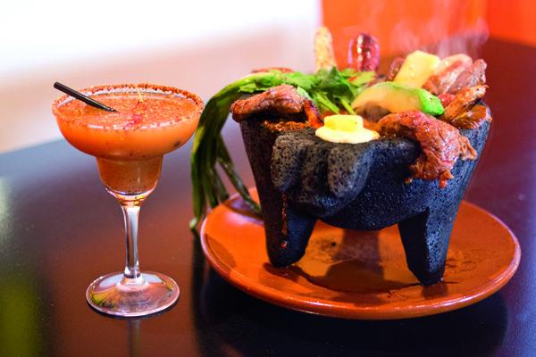 Plato del restaurante mexicano El Chirrión en Chueca