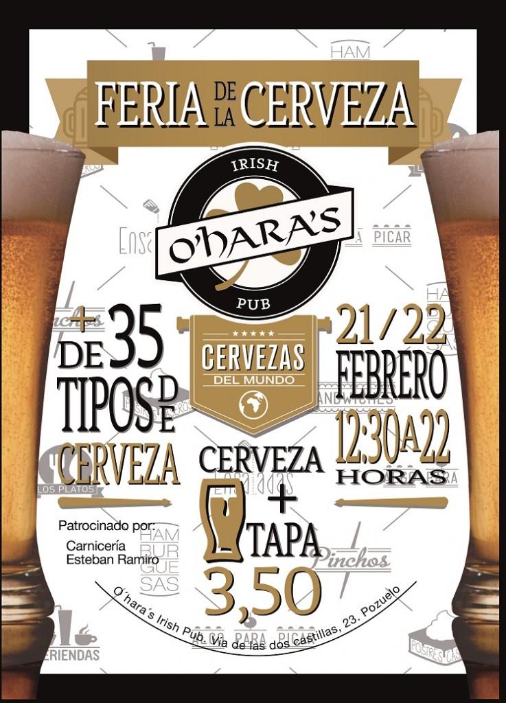 Feria de la Cerveza en O'hara's Irish Pub
