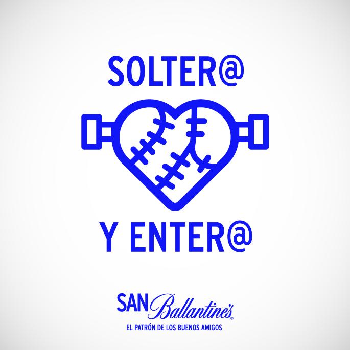 El 14 de febrero San Ballantine's: la fiesta de los amigos