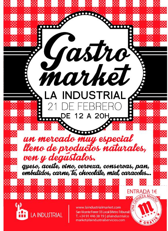 Vuelve el Gastromarket de La Industrial