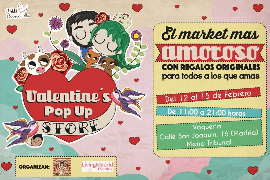 Valentine's pop up store