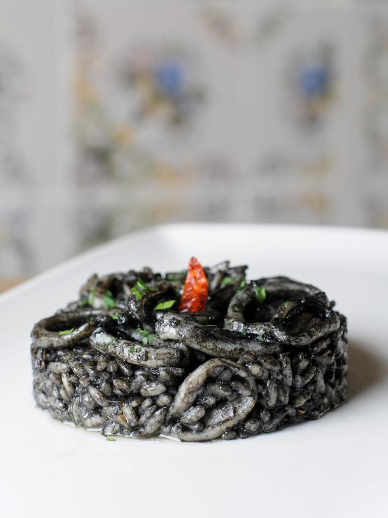 arroz negro