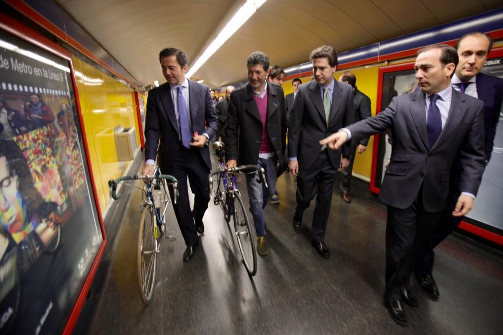 Bienvenidas las bicicletas a Metro de Madrid