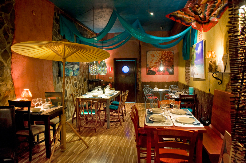 Restaurantes y cafés ecológicos: comida sana