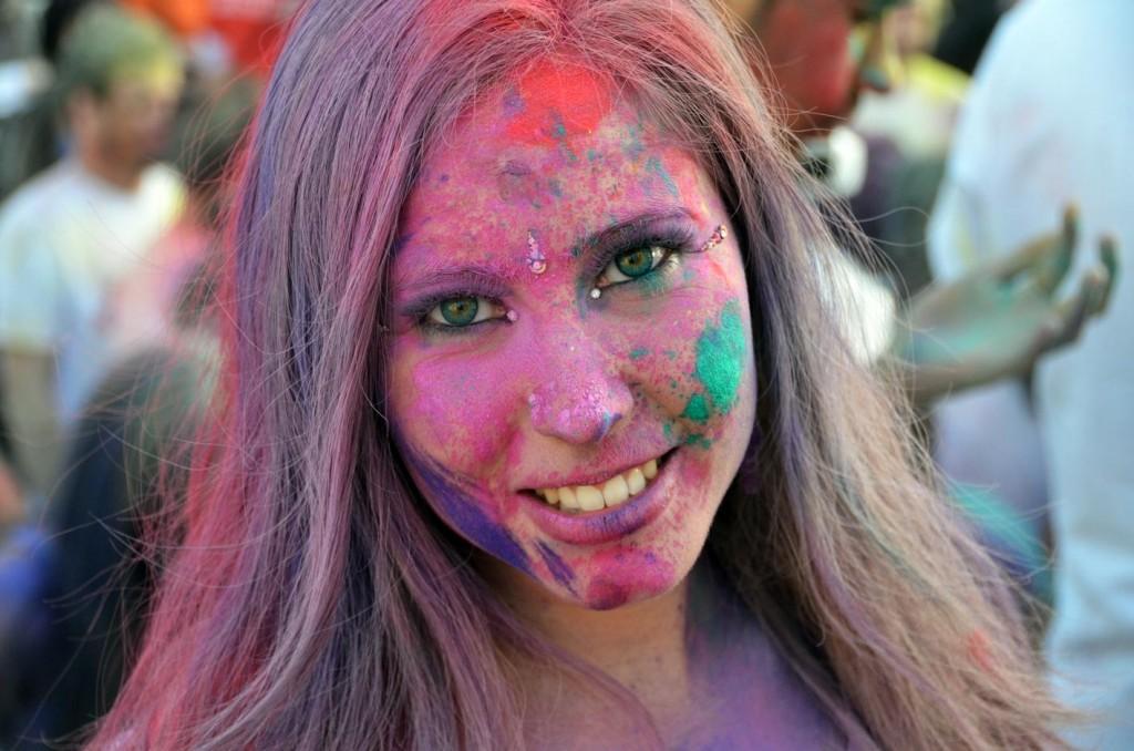 HoliMadrid 2015: la primavera hindú llega a la ciudad