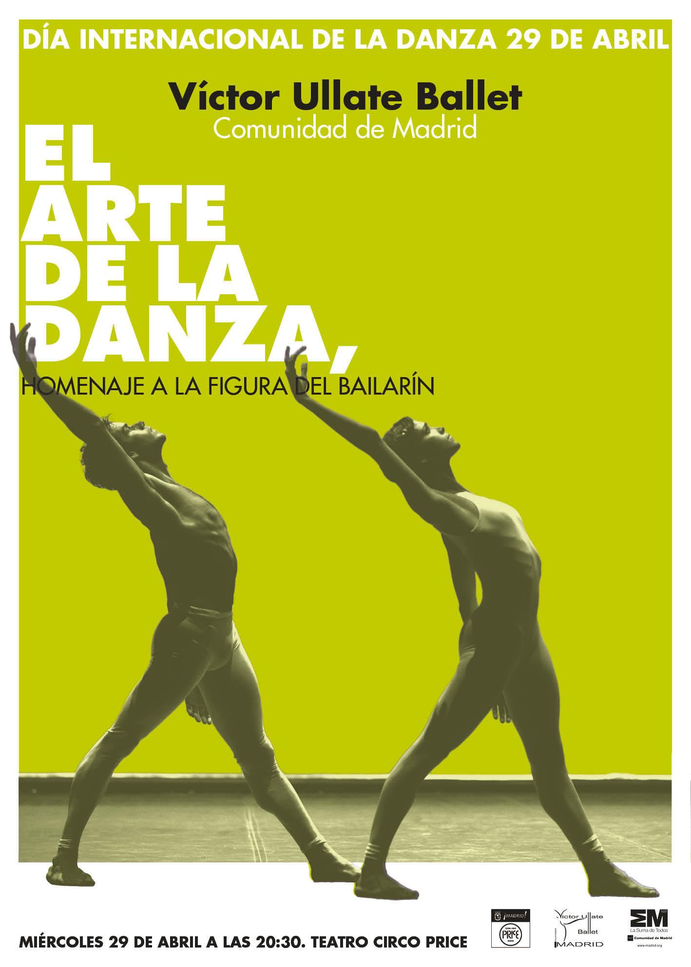 Homenaje al Día Internacional de la Danza por la compañía Víctor Ullate Ballet
