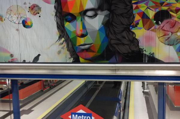 La nueva estación de metro dedicada a Paco de Lucía