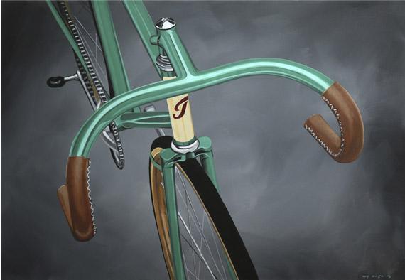"""El pintor Manu Campa presenta la exposición """"Hot Rides"""""""