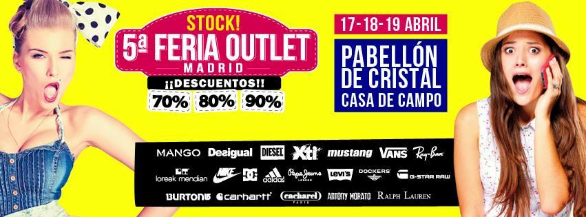 Stock! 5ª Feria Outlet Madrid: más marcas, mejores precios y ocio para toda la familia