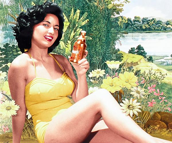 Mahou reedita su envase de Litro y sus carteles históricos de los años 50