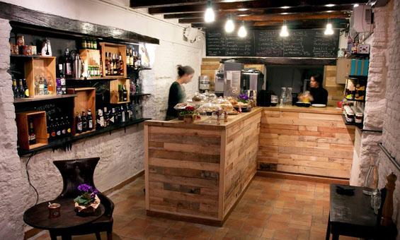 M r caf un estilo r stico industrial y productos for Barras para bares rusticos