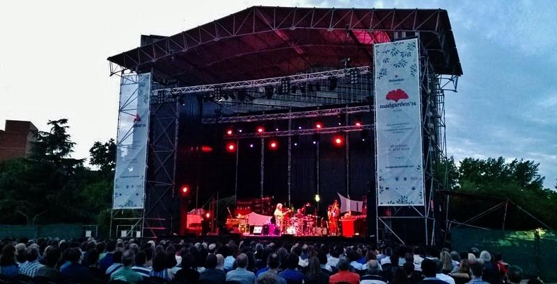 Festival Madgarden 2015: música al aire libre durante todo julio