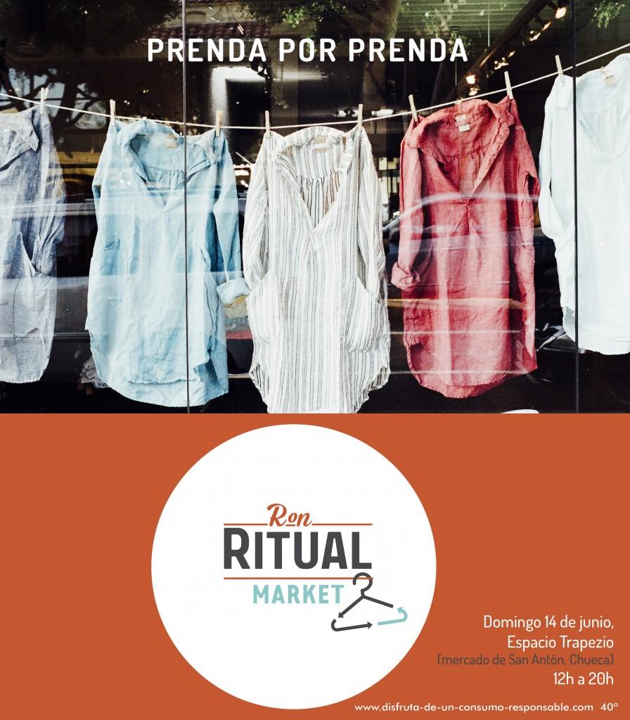Ritual Market: llega a Madrid el primer mercado de trueque de ropa