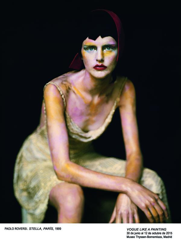 """70 imágenes de inspiración pictórica: """"Vogue like a painting"""""""