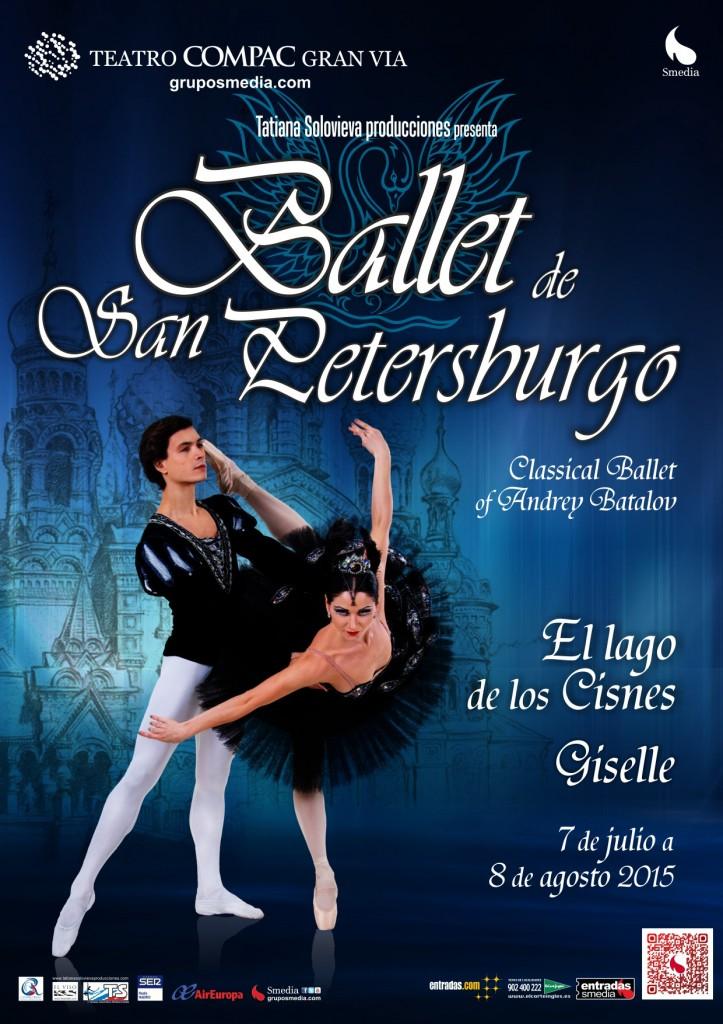 Sorteamos 2 entradas dobles para El Lago de los Cisnes (Ballet de San Petersburgo)