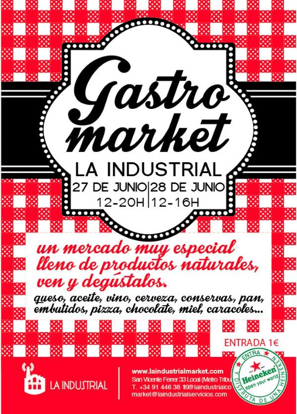 Vuelve a Malasaña el Gastromarket de La Industrial: 27 y 28 de junio