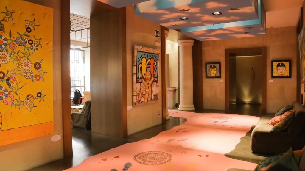 """Exposición """"Graffiti Pop"""" en el hotel Vincci Soho"""