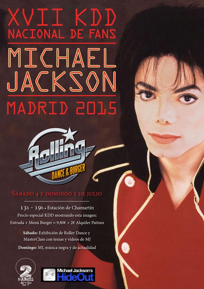 XVII Edición Nacional de Fans de Michael Jackson. Rolling Dance & Burger
