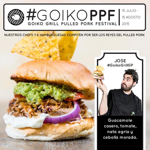 Este verano, celebra el Pulled Pork Festival con Goiko Grill