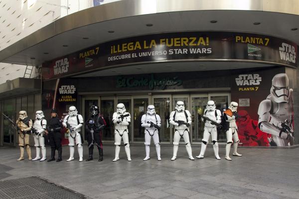¿Fan de Star Wars? No te pierdas la exposición de El Corte Inglés