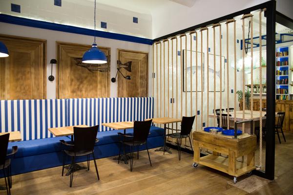 Atlántico, la casa de comidas de Pepe Solla en Madrid
