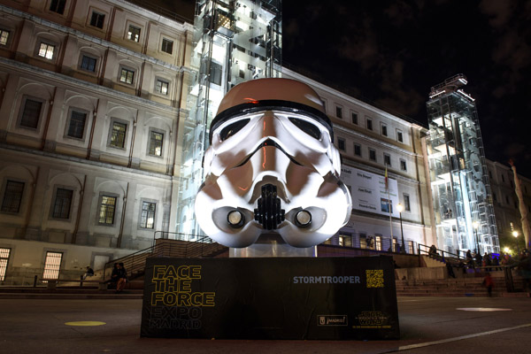 'Star Wars' toma Madrid: Enfréntate a la Fuerza