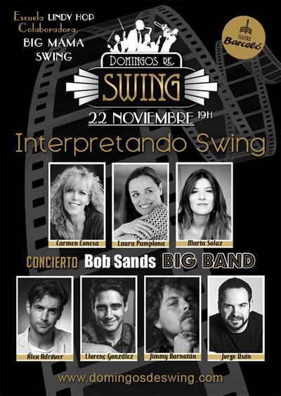 Domingos de Swing vuelve en noviembre con invitados de excepción