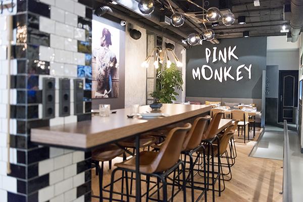 Pink Monkey, el nuevo concepto de cocina global en Chamberí