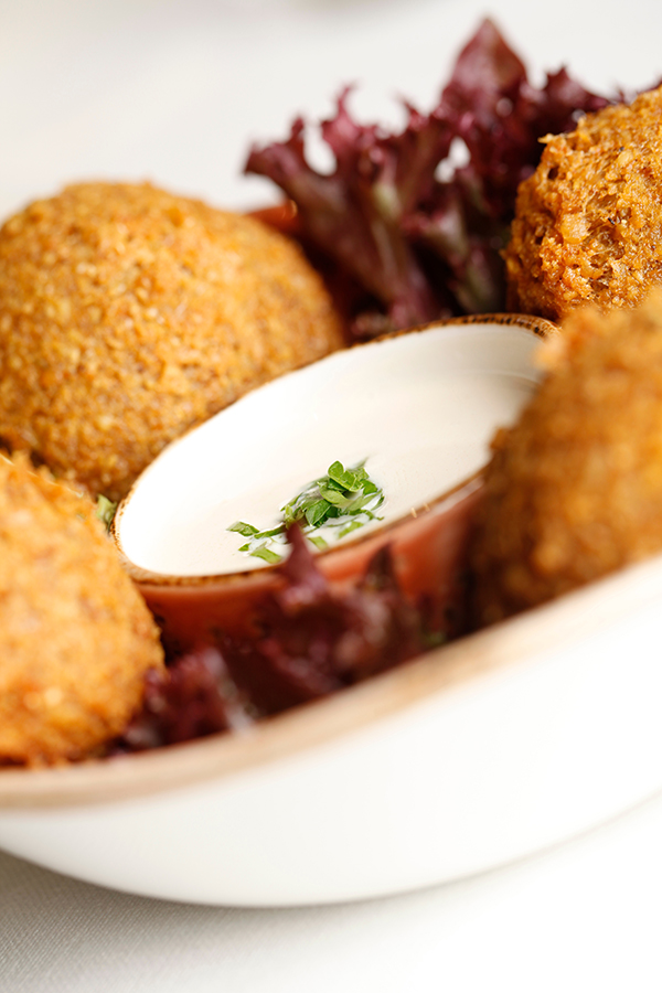 Gastronomía libanesa en el Intercontinental - falafel