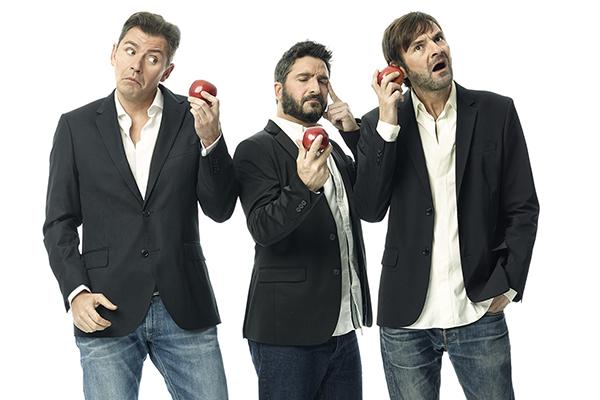 Tres 'Hombres desesperados' se desahogan en el Teatro Alcalá