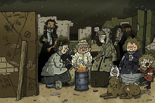 Grandes ilustradores transforman el arte en cómics en el Espacio Fundación Telefónica