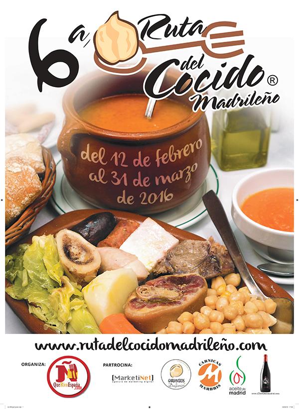 Vuelve la Ruta del Cocido Madrileño con su quinta edición