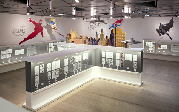 Los superhéroes toman el museo ABC