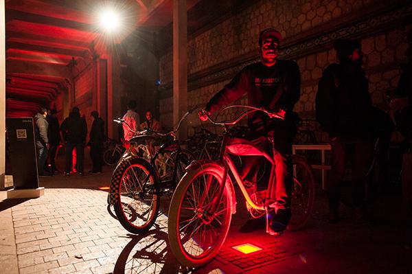 Diversión sobre dos ruedas en el Bicycle Film Festival