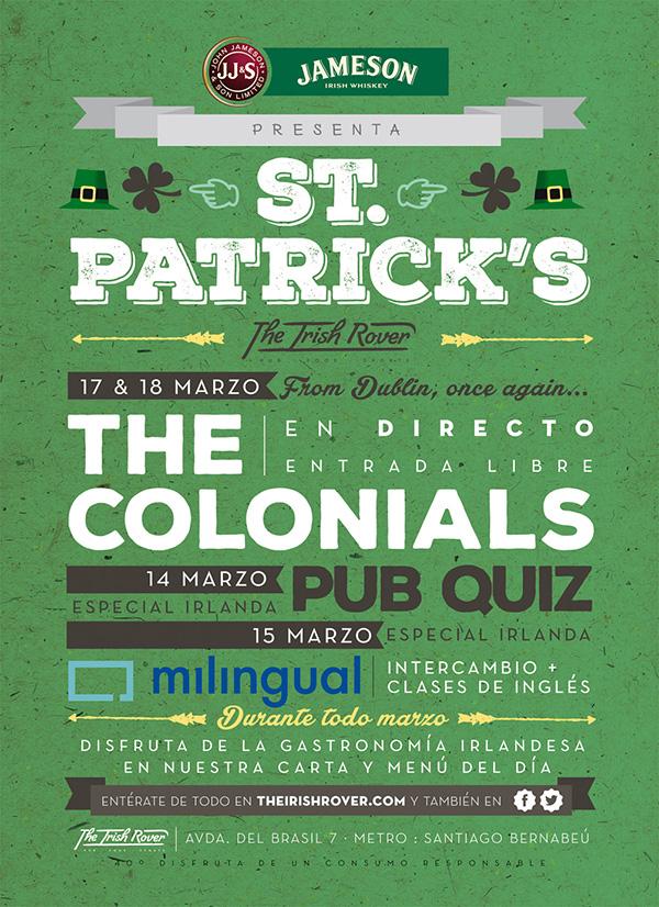 Madrid celebra el día de San Patricio