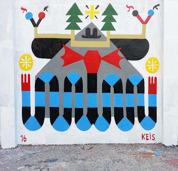 100 artistas urbanos toman las calles de Malasaña