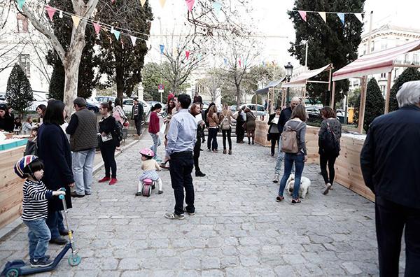 Cultura y buen ambiente en el barrio de las Salesas