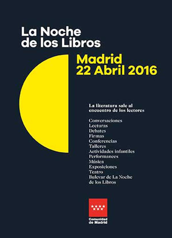 Celebra el día del libro en Madrid
