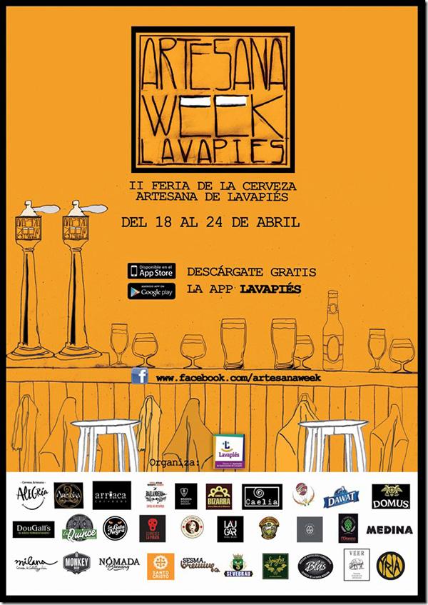 Las cervezas artesanas se reúnen en Lavapiés