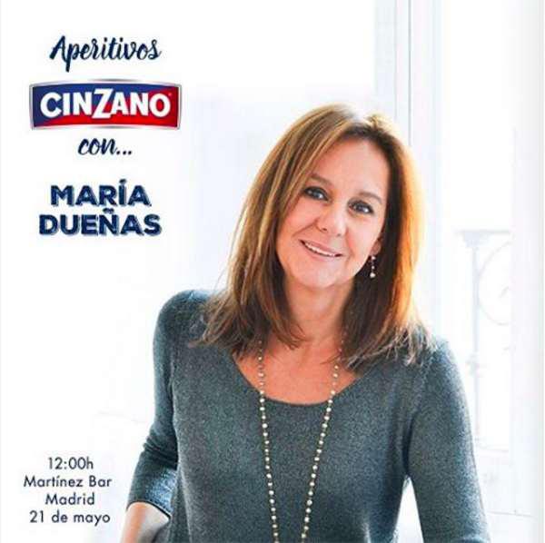Aperitivos Cinzano Con María Dueñas