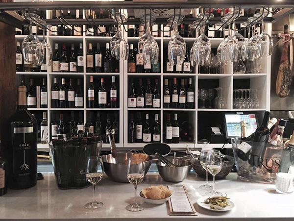 Las barras de vino de Madrid