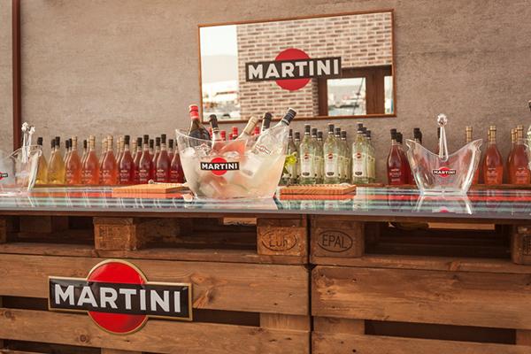 Fórmula 1, gastronomía y música unidas en la terrazza MARTINI