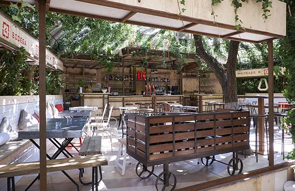 Arte, gastronomía y cerveza en Manzana Mahou