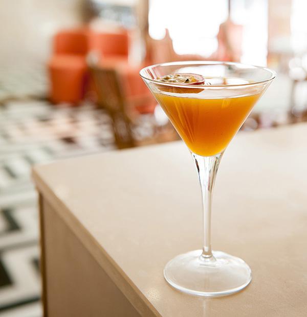 Benares Madrid Passion fruit chutney Martini (1)
