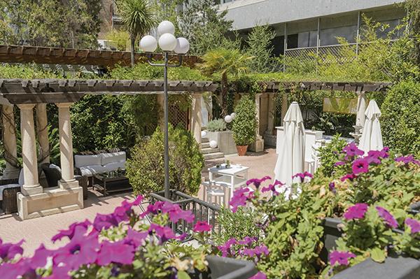 Las mejores terrazas de Madrid - revista hsm -Hotel Miguel Angel
