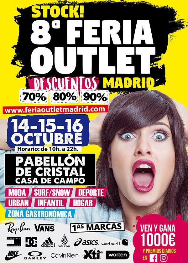 Ganadora de un bono de 30 euros para Stock! 8ª Feria Outlet de Madrid