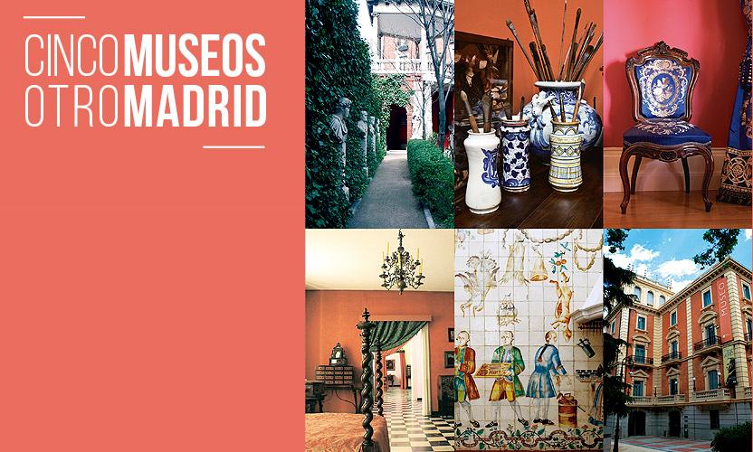 """Nueva ruta cultural """"CINCO MUSEOS. OTRO MADRID"""""""