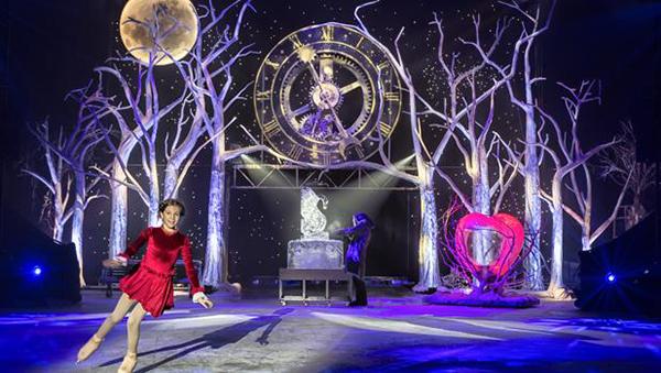 El Circo de Hielo y el hechizo del jardín congelado
