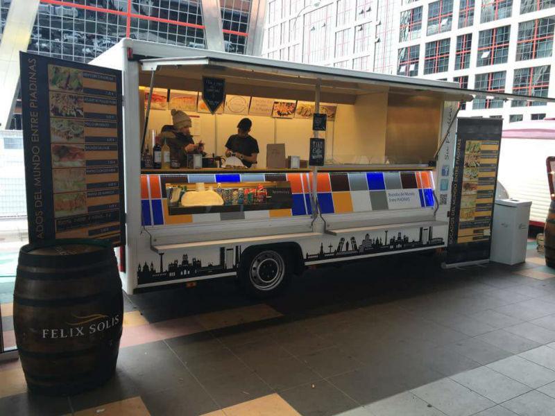 The Foodie Week Viña Albali: gastronomía sobre ruedas