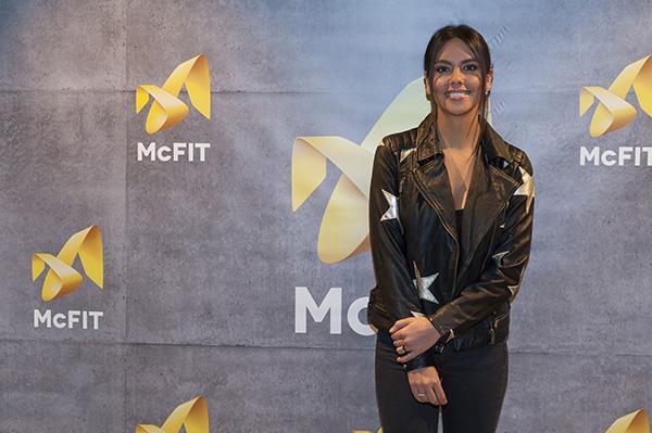 Cristina Pedroche inaugura el nuevo gimnasio de McFIT